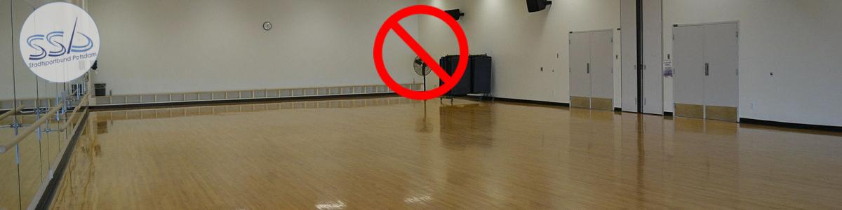 Neue Eindämmungsverordnung des Landes Brandenburg: Indoor-Sport verboten!